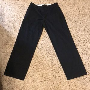 Black Docker Slacks